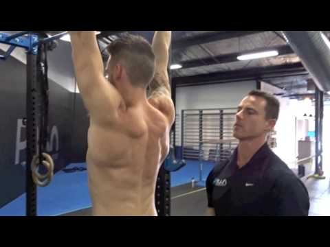 Scap Pulls - Ensure correct activation before pull ups