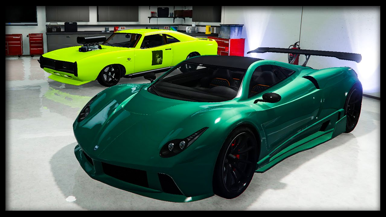 Gta 5 online best paint jobs of the week luxury for Dark green paint job