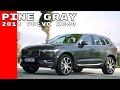 Pine Gray 2018 Volvo XC60 D5 Drive, Exterior, & Interior