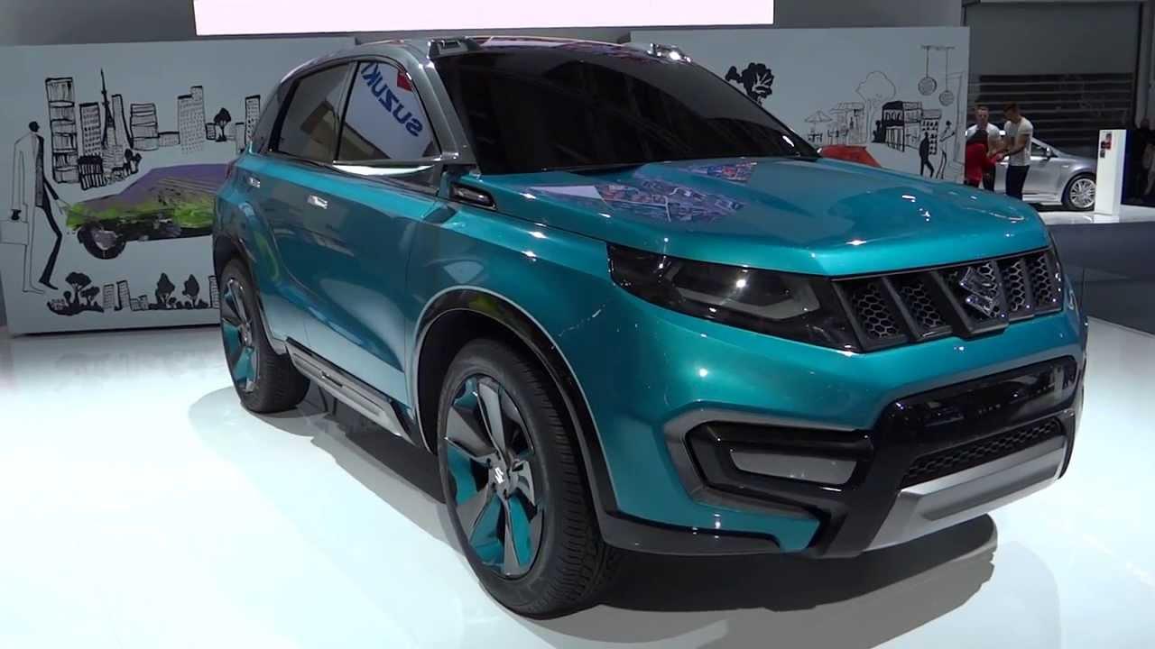 New Suzuki IV4 2015 Concept Car Frankfurt 2013