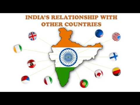 INDIA'S RELATIONSHIP WITH OTHER COUNTRIES (Political Science)