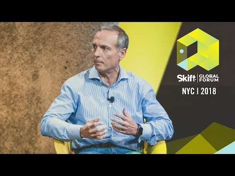 Booking Holdings President and CEO Glenn Fogel at Skift Global ...