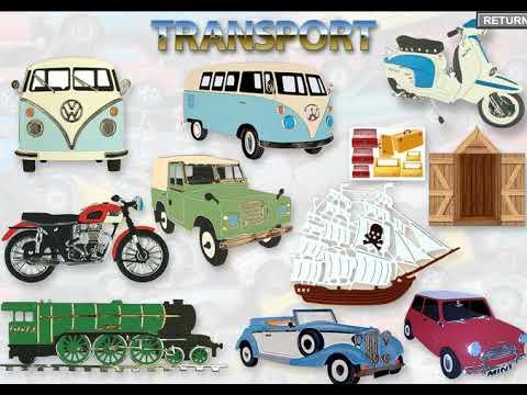 Walk through tour of the Transport CD Rom