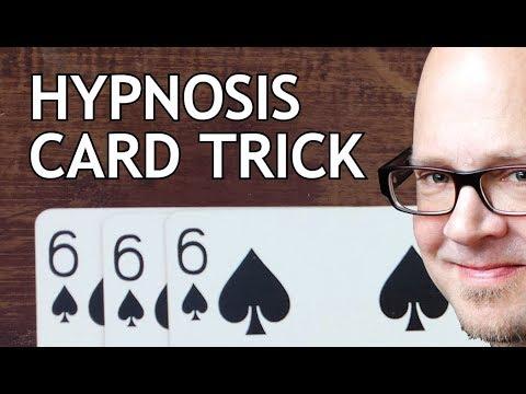 MIND-BENDING HYPNOSIS CARD TRICK! (Amazing Secret Revealed!)