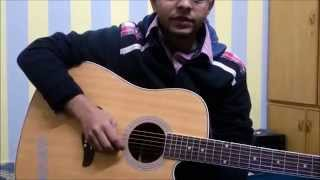 National anthem of Pakistan on Guitar by Khawar Malik
