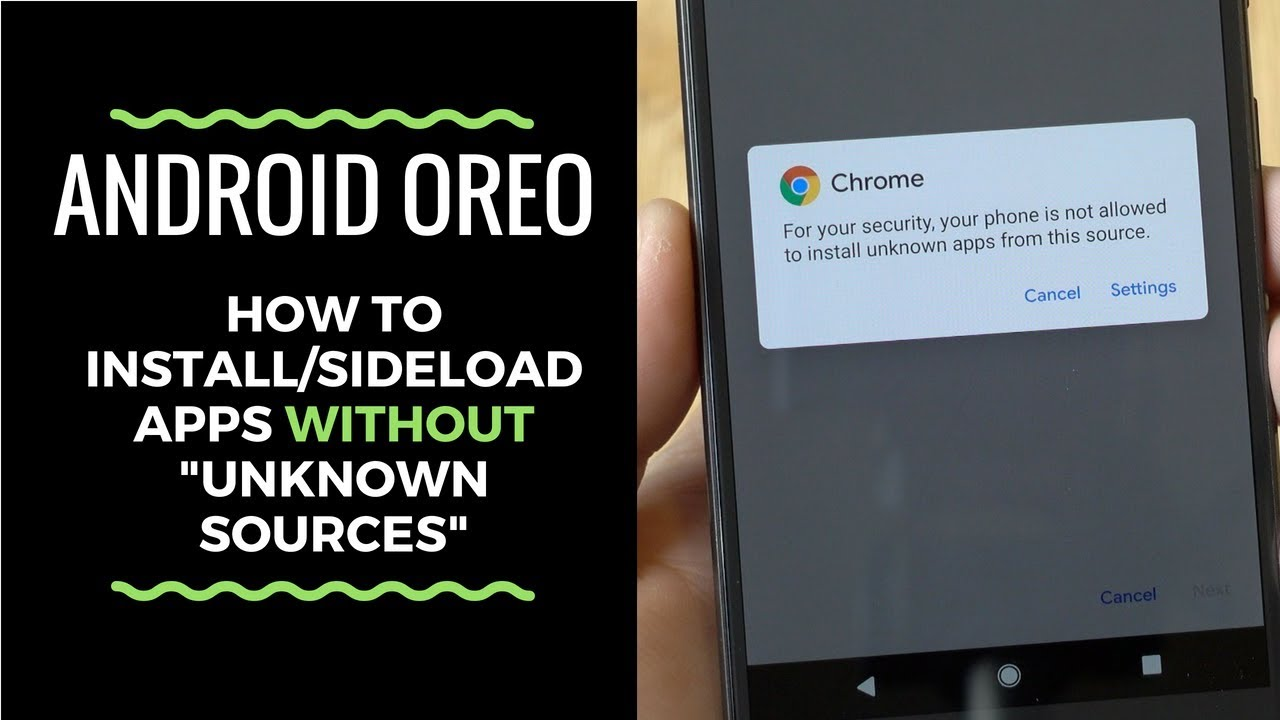 "How to Install Apps on Android 8.0 Without ""Unknown Sources"" Setting  #Smartphone #Android"