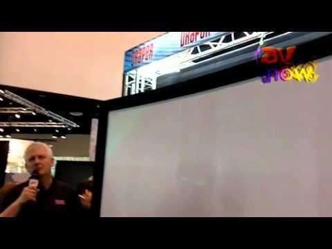 InfoComm 2011: Draper Describes Its Curve Screens