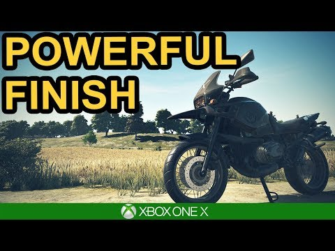 PUBG / POWERFUL FINISH / Xbox One X