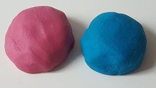 Knete mit Mehl selber machen - Salzteig selber machen