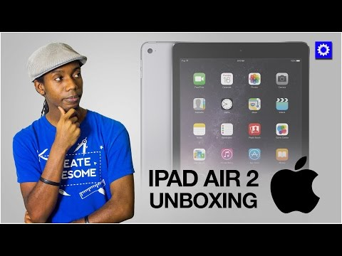 Apple IPad Air 2 Unboxing- Space Grey