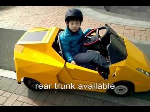 람보르기니를 직접 만들어 보았다 Lamborghini Gallardo Replica Mini Kart