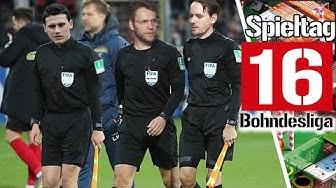 16. Spieltag der Fußball-Bundesliga in der Analyse | Saison 2019/2020 Bohndesliga