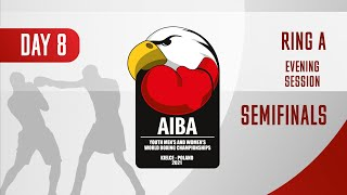 AIBA Youth Men's and Women's World Boxing Championships Kielce 2021 | Day8 | Ring A | Evening