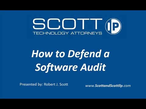 How to Defend a Software Audit