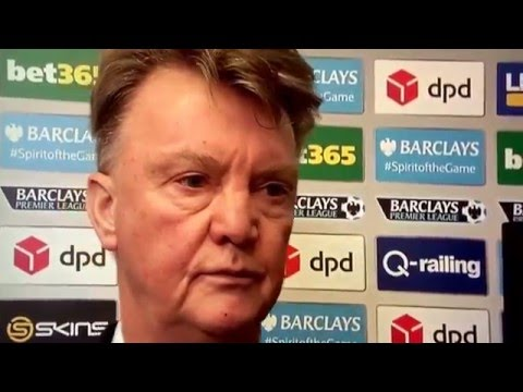 If looks could kill by Louis Van Gaal - Stoke City 2-0 Manchester United