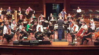 Ustad Shahid Parvez Khan (sitar) performs with the Queensland Symphony Orchestra