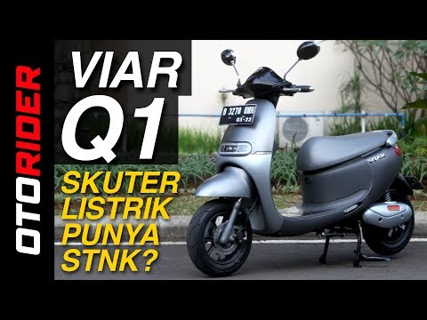 Viar Q1 2017 First Ride Review - Indonesia | OtoRider