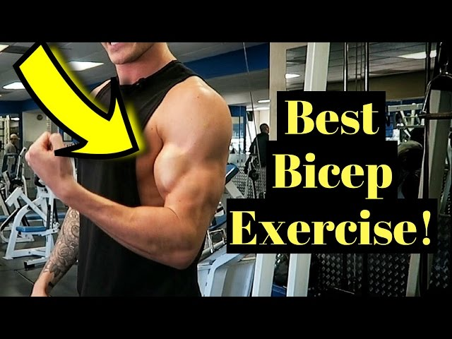 How To Get Bigger Biceps (Just ONE Exercise!)
