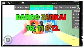 Geben Zenkai 10, 11 und 12 Dragon Ball Wut/Roblox