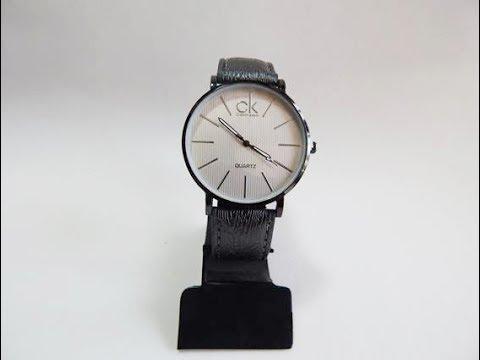ea0cd5f5811 Relógio Calvin Klein Quartz - Pulseira cor Prata Metálico - YouTube