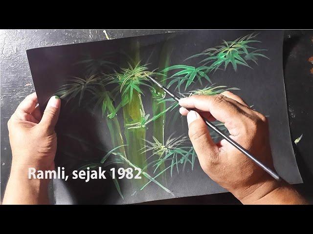 Cara cepat melukis bambu