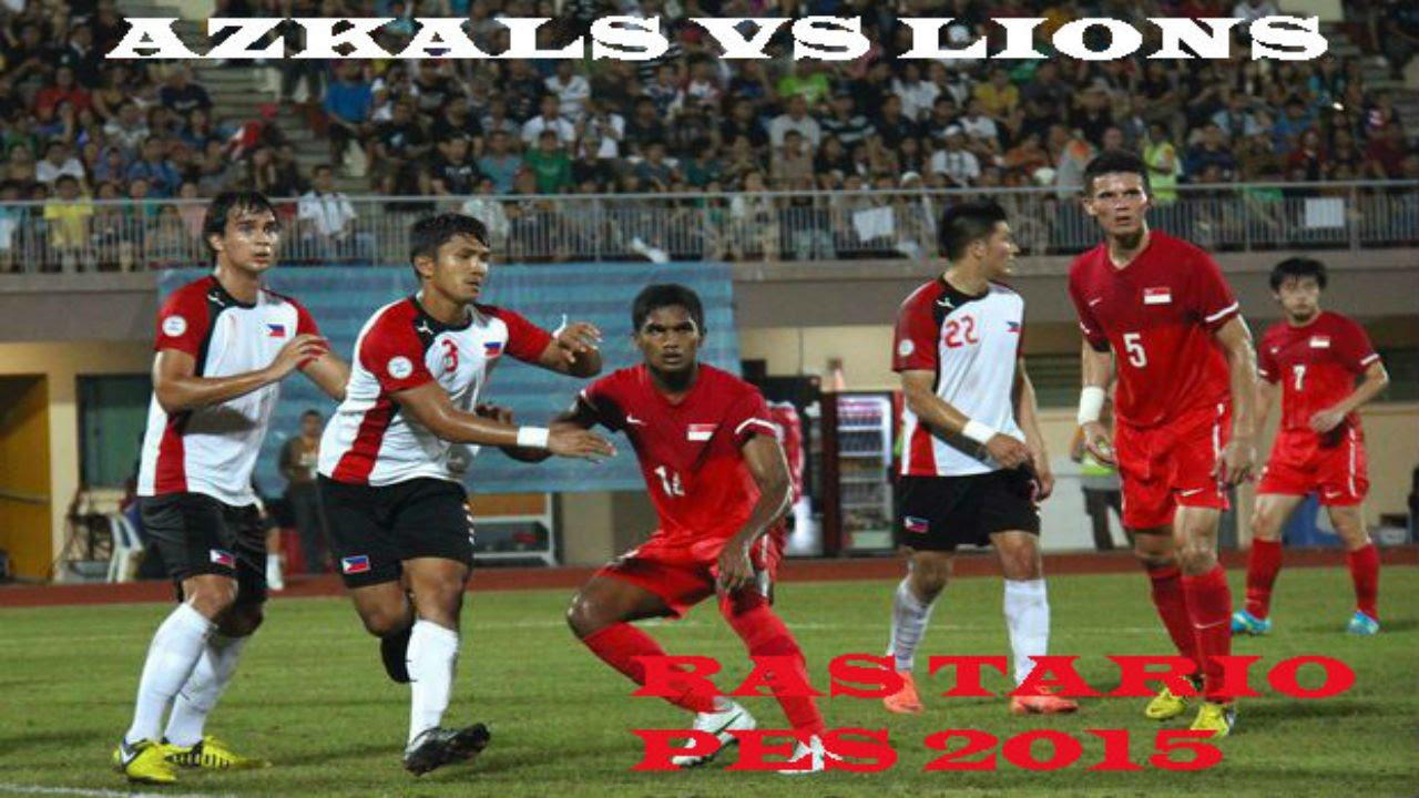 PES 2015 Philippines vs the Singapore - YouTube