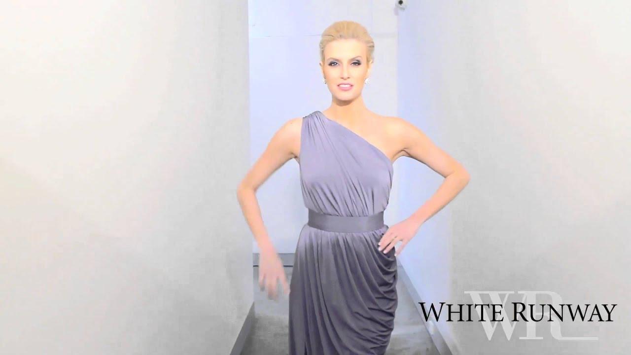 White runway ingrid dress.