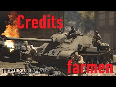 Wie Man Richtig Credits Farmt | Heroes & Generals