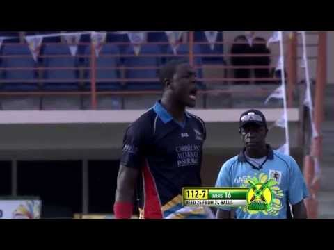 CPL 2014 Highlights Match 1 - Antigua Hawksbills vs Guyana Amazon Warriors
