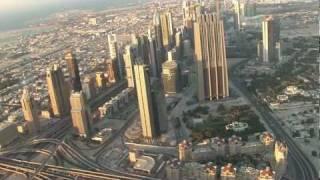 DUBÁI 2011: Desde el mirador del Burj Khalifa