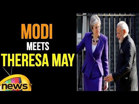 PM Modi Meets UK Prime Minister Theresa May   Mango News