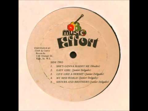 """Junior Delgado  """"Effort"""" Full Album DEB 1979 Reggae"""