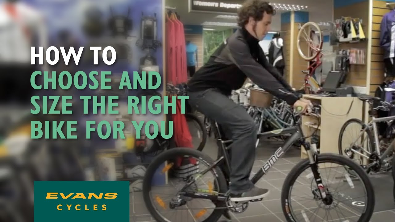 How to choose and size the right bike for you? - YouTube