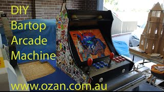 Bartop Arcade Machine DIY