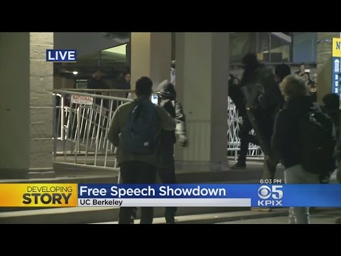 Live Report: Riot At Scheduled Milo Yiannopoulos Event At UC Berkeley