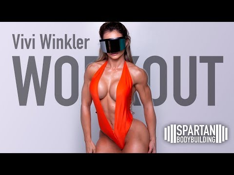 Vivi Winkler workout | Spartan Bodybuilding from YouTube · Duration:  3 minutes 46 seconds