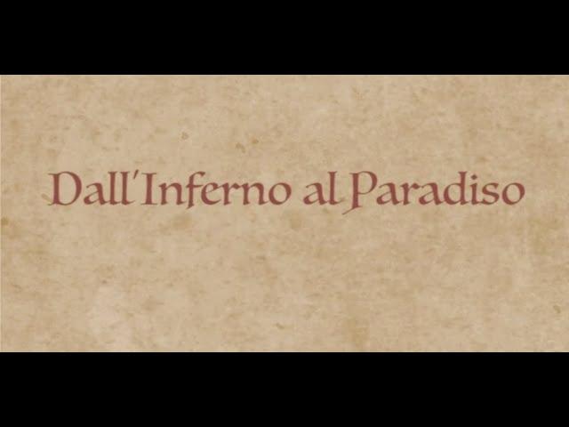 Dall'Inferno al Paradiso - Video mostra omaggio al settecentenario dalla morte di Dante Alighieri