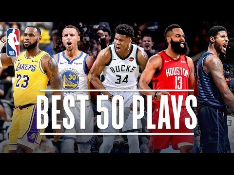 Best 50 Plays Through The All-Star Break | 2019 NBA Season