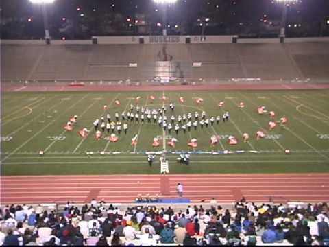 Belmont High School Marching Band- Earth Wind & Fire Field Show (Fall 04)