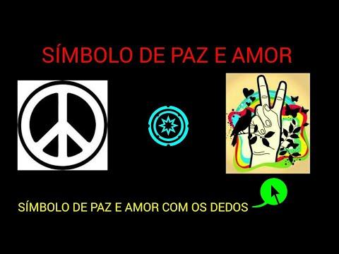 Significado do Símbolo de Paz e Amor
