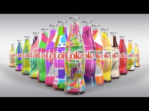 Coca-Cola Israel's Extraordinary Diet Coke Collection