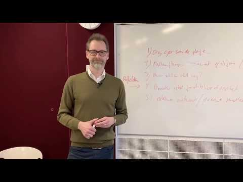 Steffen Löfvall fortæller om platforme
