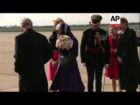 Charles and Camilla visit the Balkans