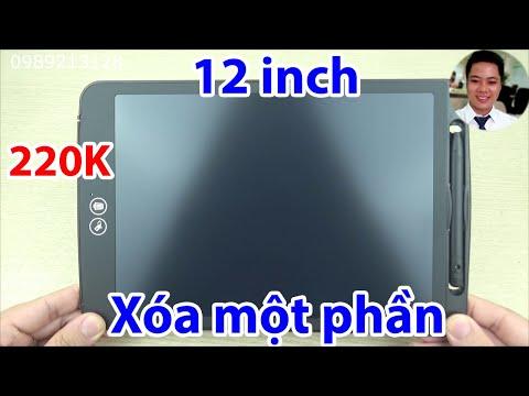 Bảng viết vẽ điện tử thông minh 12 inch, có thể xóa một phần SADA