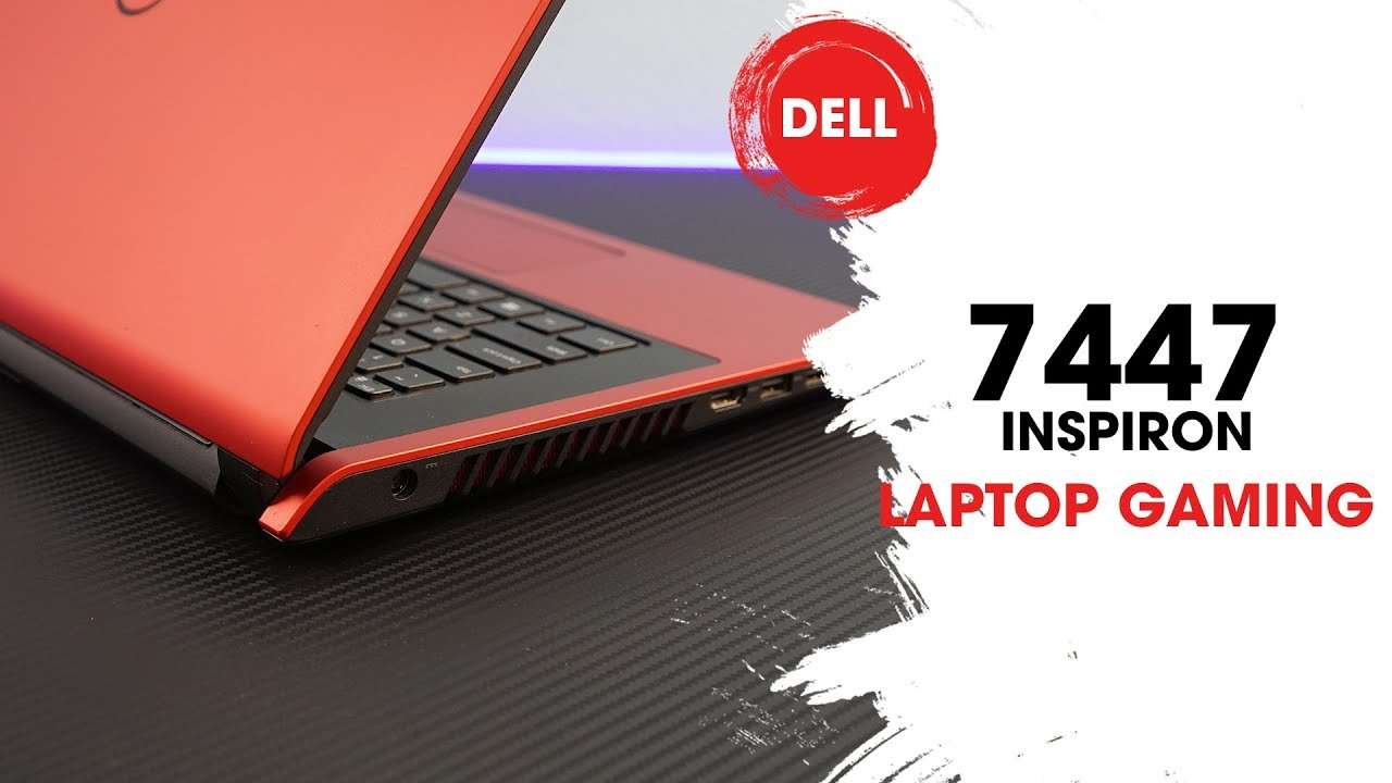 laptop gaming dell 7447