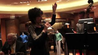 Deana Martin Performing at Paul Stuart/Esquire Magazine Rat Pack Book & Photo Exhibit