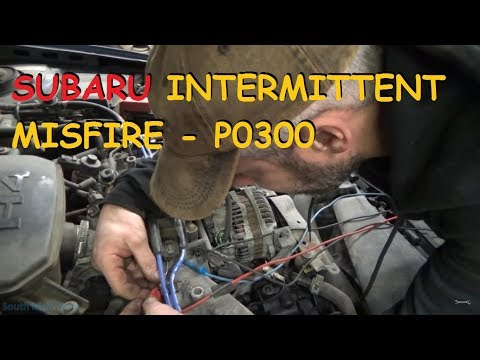 Subaru Intermittent Misfire - P0300