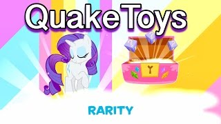 My Little Pony Friendship Celebration App Game NEW CHARACTERS Scans MLP Rarity