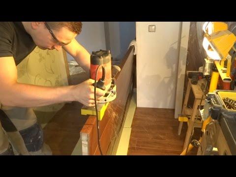 Шаблонный метод установки межкомнатных дверей. Процесс. Врезка петель и замков. Доборы и наличники