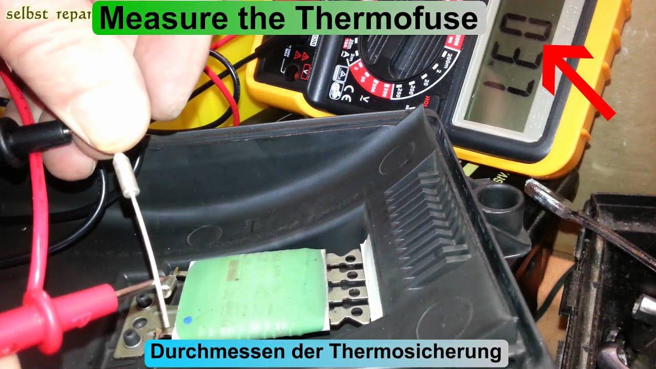 maxresdefault golf 4 iv mk4 blower heizung gebl�se thermosicherung austauschen box fan thermal fuse at panicattacktreatment.co